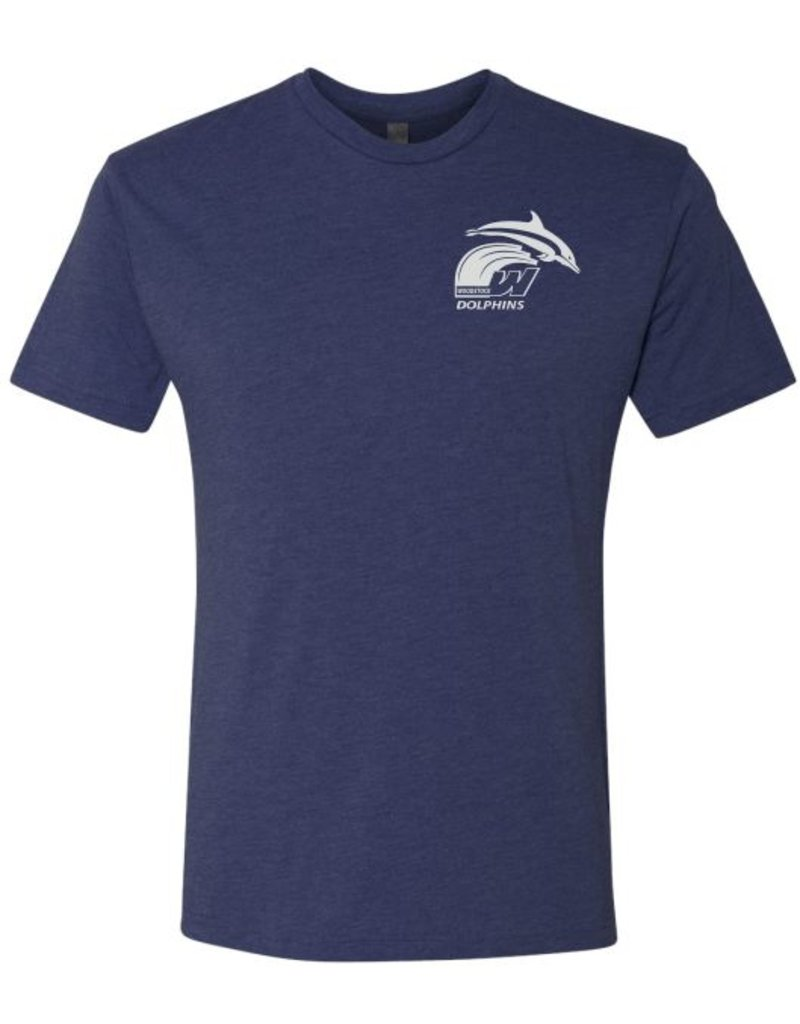 #5 Short Sleeve Triblend T-Shirt - Woodstock Swim