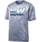 #42 Electric Heather Performance Shirt- Woodstock Swim