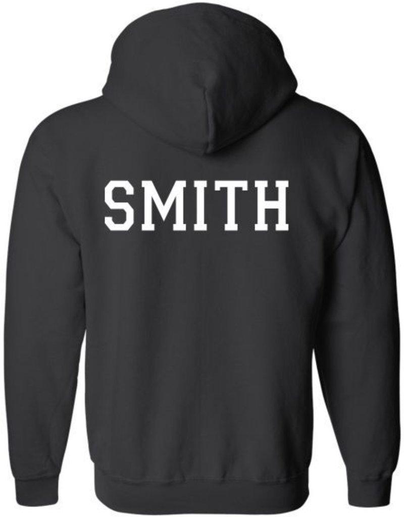 #100 Full-Zip Hooded Sweatshirt - BBWC