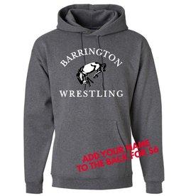 #103 Heavyweight Cotton Hooded Sweatshirt - BHS Wrestling