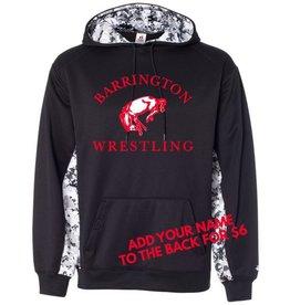 Badger #117 Digi Camo Colorblock Performance Sweatshirt - BHS Wrestling