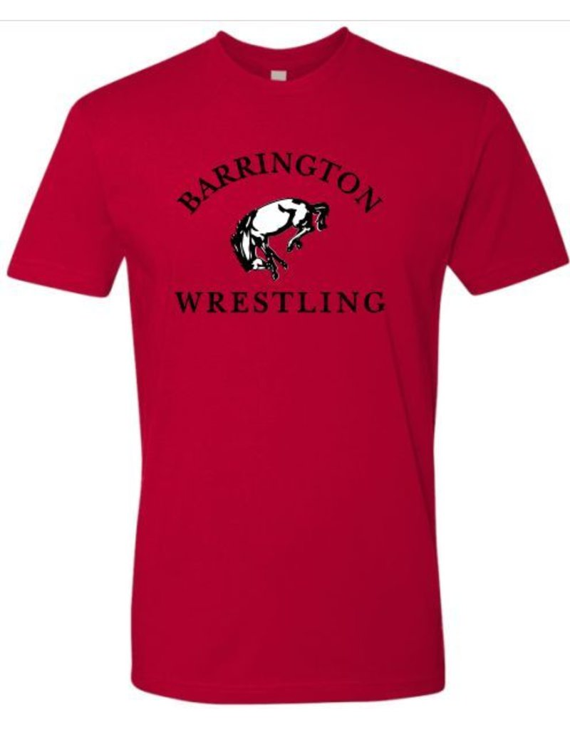 #6 Ringspun Short Sleeve Shirt - BHS Wrestling