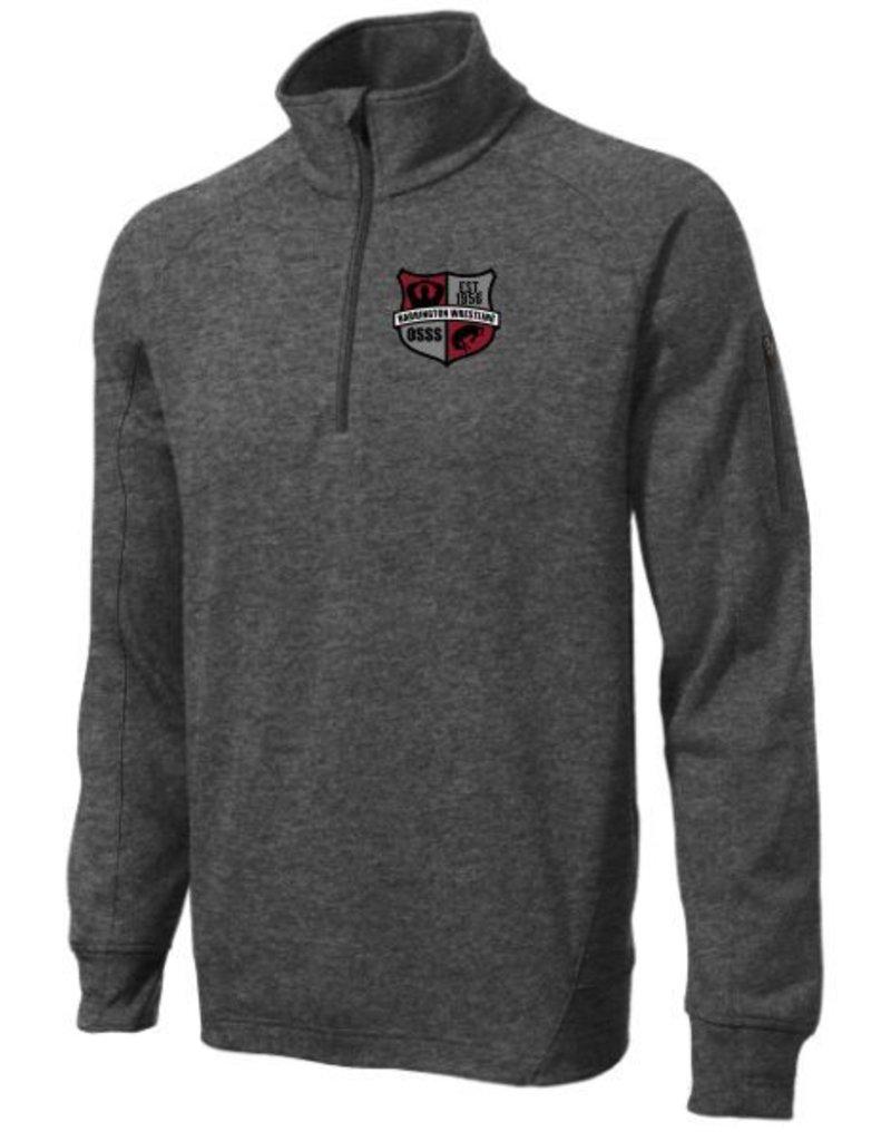 #506 Adult Tech Fleece Quarter-Zip Pullover - BHS Wrestling