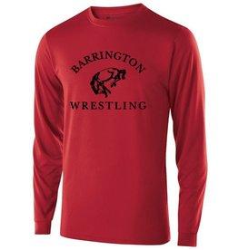 #41 Gauge Long Sleeve Performance Shirt- BHS Wrestling