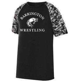 #65 Digi Camo Colorblock Performance Shirt- BHS Wrestling