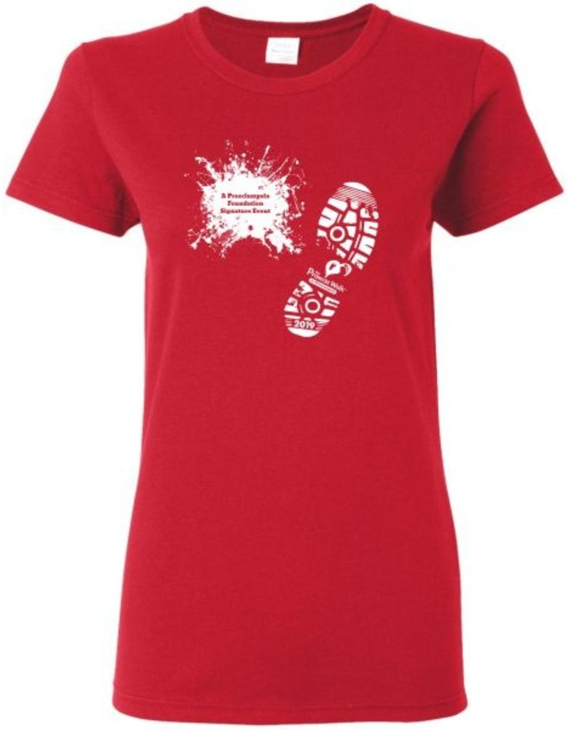 #302 Ladies Classic Short Sleeve Tee Shirt - The Promise Walk - Step Three