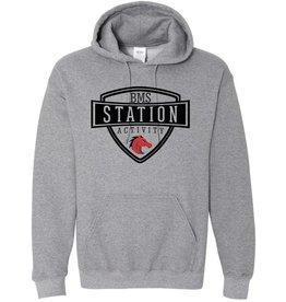 #101B Hooded Sweatshirt - Station SpiritX
