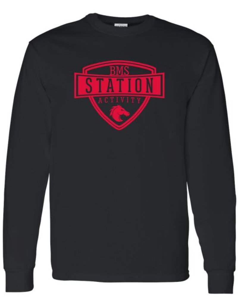 #4 Classic Long Sleeve T-Shirt - Station SpiritX