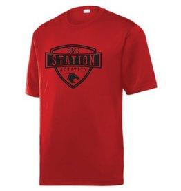 #40 Tough Short Sleeve Performance Shirt - Station SpiritX
