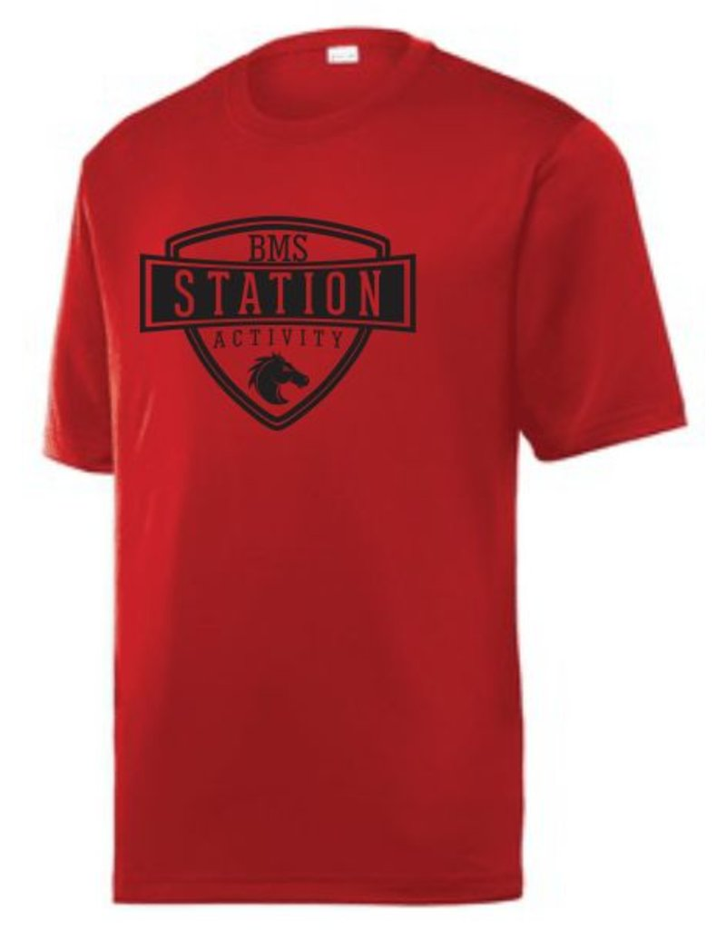 #40 Tough Short Sleeve Performance Shirt - Station SpiritX