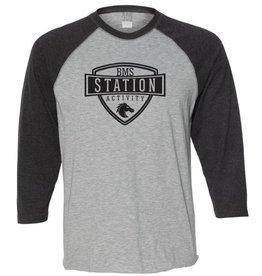 #18 Vintage 3/4 Sleeve Raglan T-Shirt - Station SpiritX
