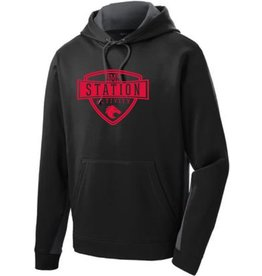 #109 Colorblock Performance Sweatshirt - Station SpiritX