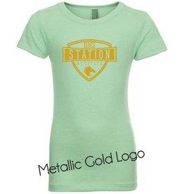#346 Fitted Short Sleeve Ringspun T-Shirt - Station SpiritX