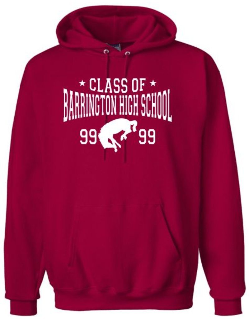 #103B Heavyweight Cotton Hooded Sweatshirt - BHS Class Of... Collection