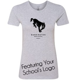 #341 Short Sleeve Fitted Tee - Barrington 220 Schools