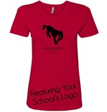 #341 Short Sleeve Fitted Tee - Barrington 220 Schools