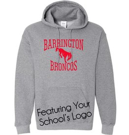 #101 Hooded Sweatshirt - Barrington 220 Schools
