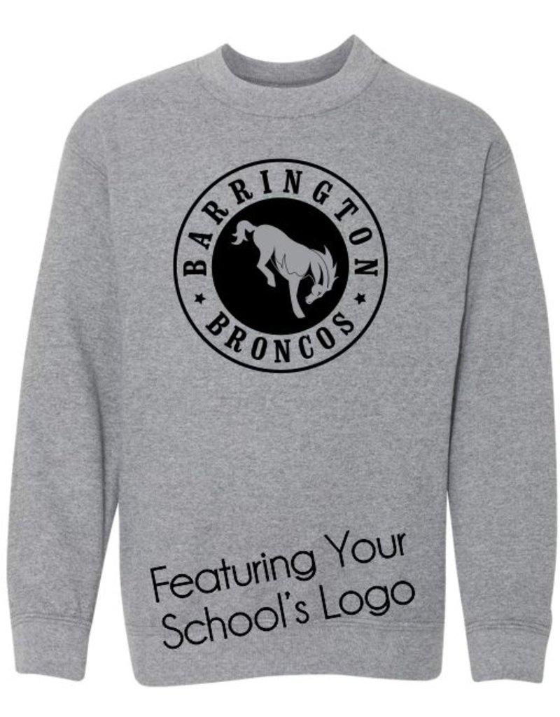#104 Classic Crewneck Sweatshirt - Barrington 220 Schools