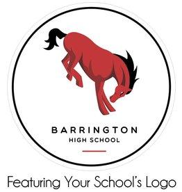 #475 Car Decal - Barrington 220 Schools