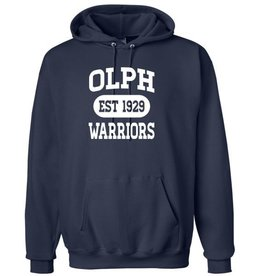 #103 Heavyweight Cotton Hooded Sweatshirt - OLPH Alumni