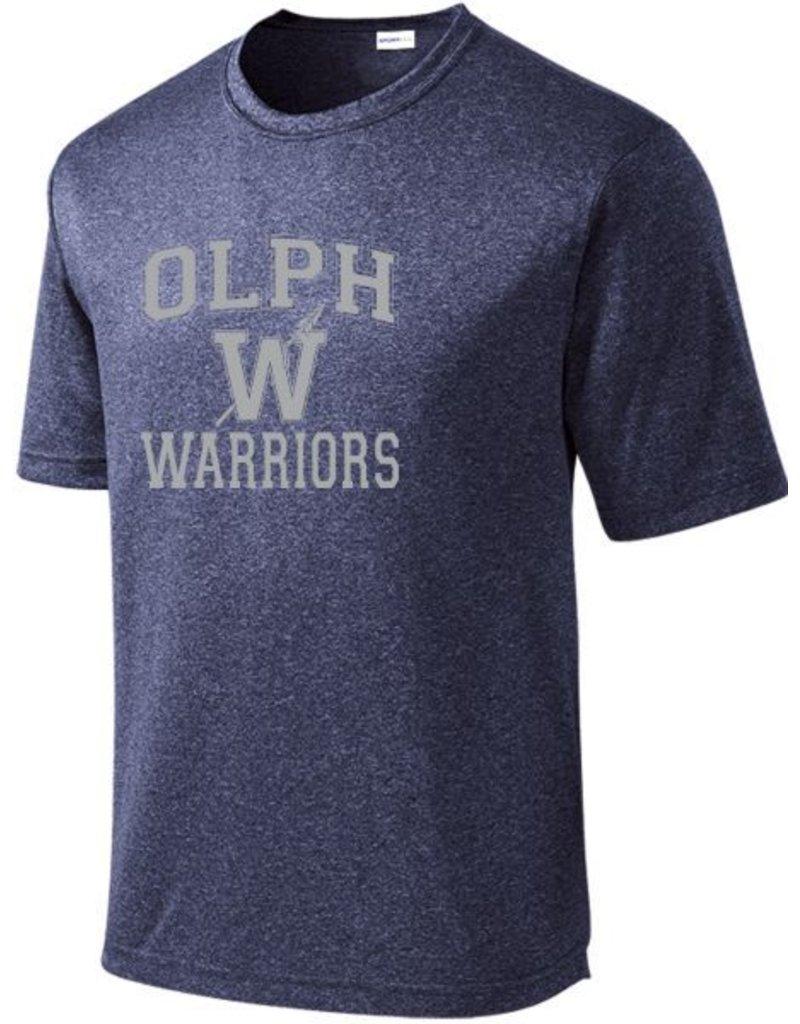 #52 Heathered Performance Shirt OLPH Alumni