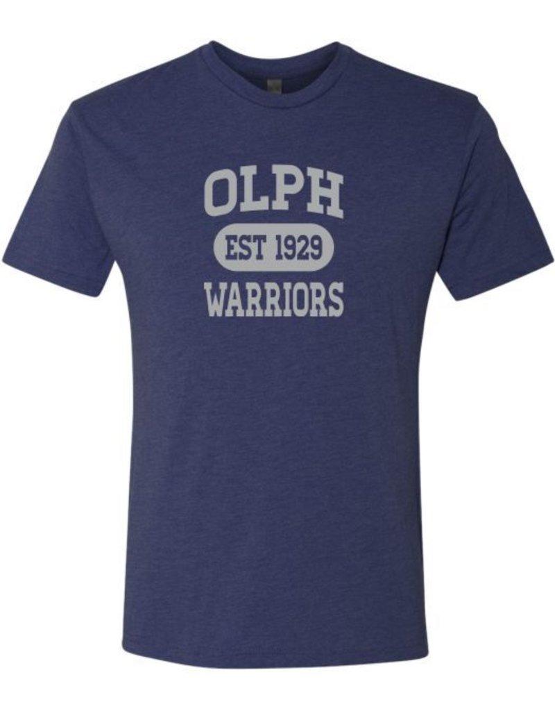 #5 Short Sleeve Triblend T-Shirt - OLPH Alumni