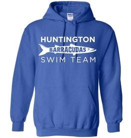 #101 Classic Hooded Sweatshirt - Huntington Swim Team