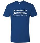 #6 Premium Short Sleeve Crew Neck Tee - Huntington Swim Team