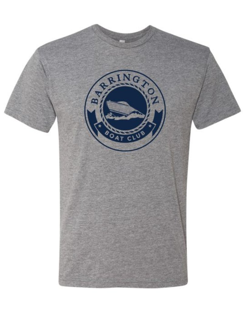 #5 Short Sleeve Triblend T-Shirt - Barrington Boat Club