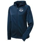 #507 Ladies Tech Fleece Full Zip Hooded Jacket - Barrington Boat Club