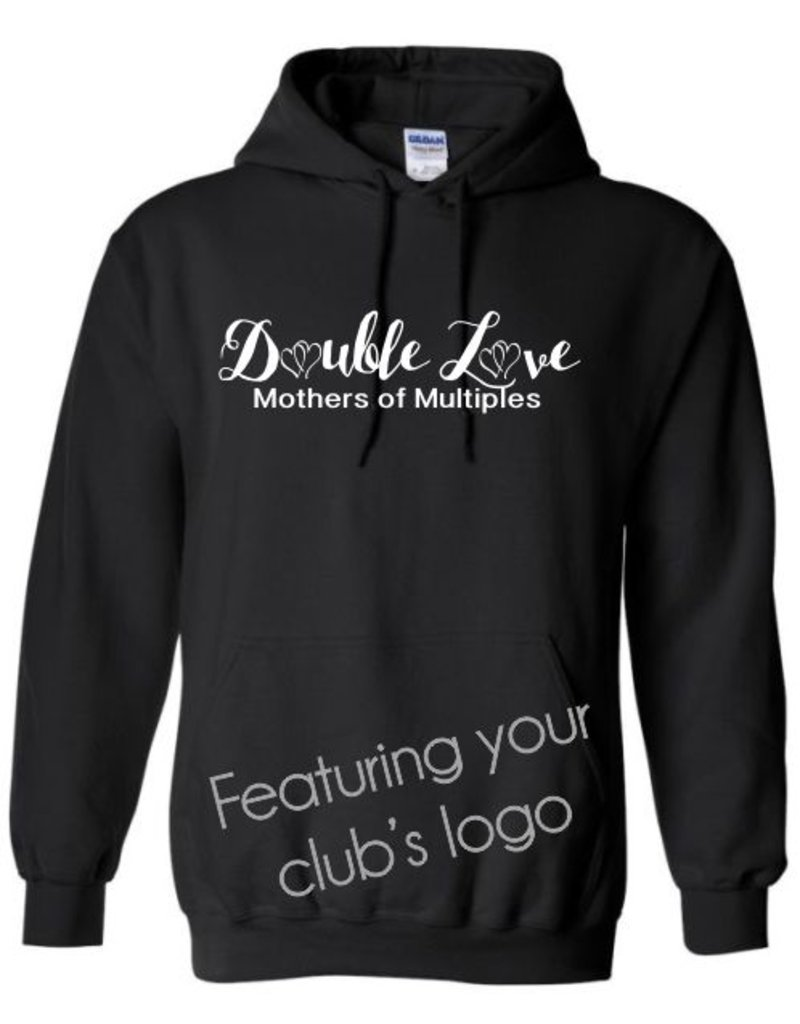#101 Adult Hooded Sweatshirt - Mothers of Multiples - Pick Your Logo