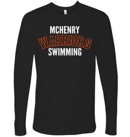 #3360 Adult Premium Long Sleeve Shirt - McHenry Swimming