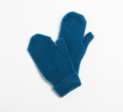 Look by M Angora Blended Basic Mittens