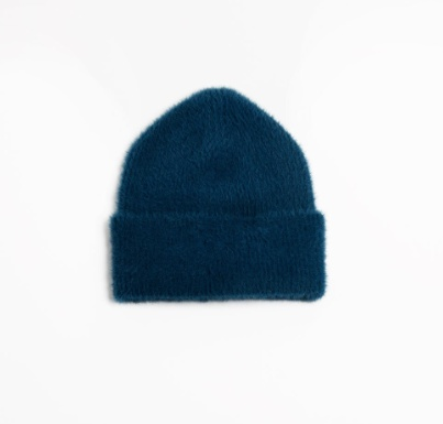 Look by M Angora Blended Basic Beanie