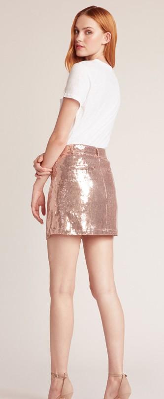 BB Dakota Modern Love Sequin Skirt