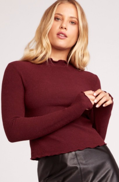 Jack BBD Best Intentions Rib Knit Top