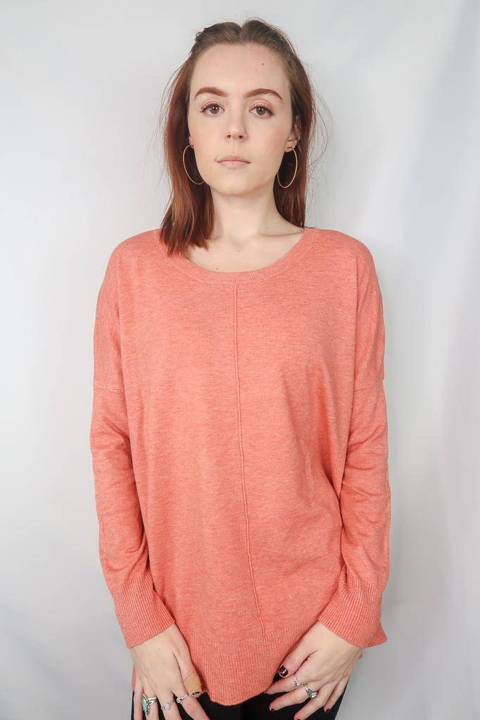Dreamers by debut Sweater w/ Exposed Seam