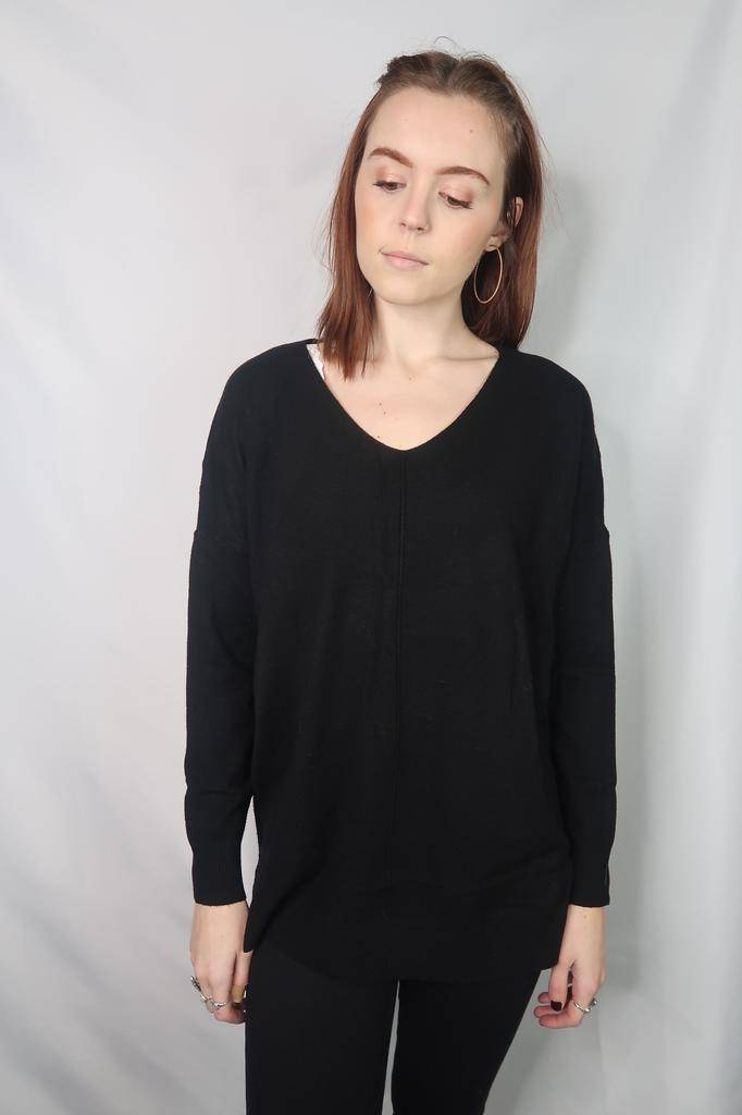 Dreamers by debut V neck sweater top