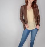 BB Dakota Gabrielle faux leather jacket
