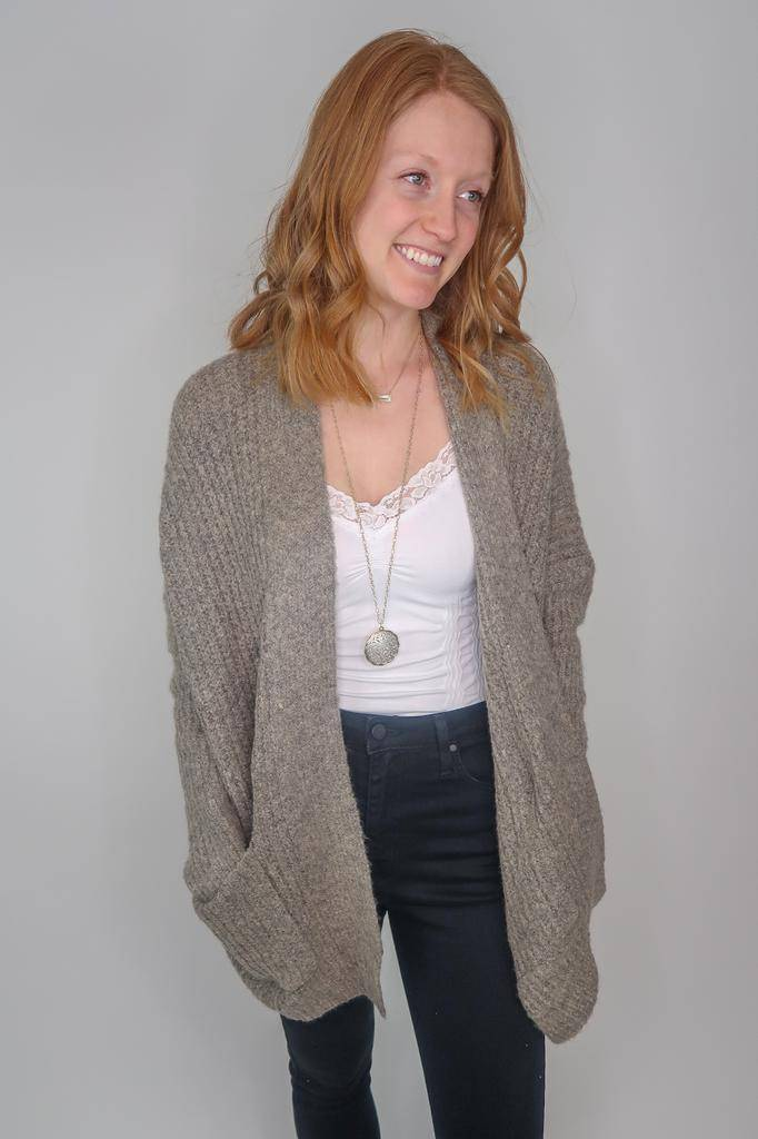 Dreamers by debut Open cardigan with pockets