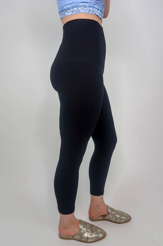 M Rena Tummy Tuck Solid High Waist Leggings