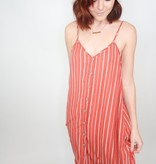 Cozy Casual Striped Button Down Dress