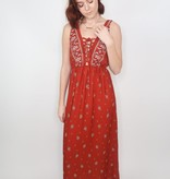 Sweet Rain On the Borderline Maxi Dress