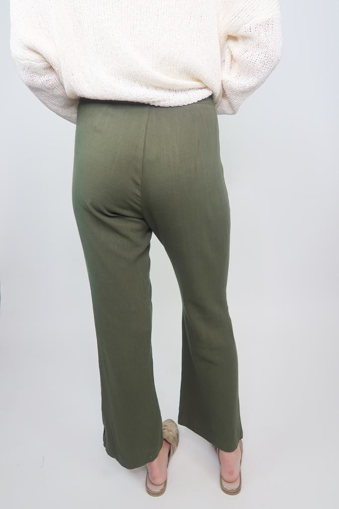 HYFVE Bottom Detail Linen Pants
