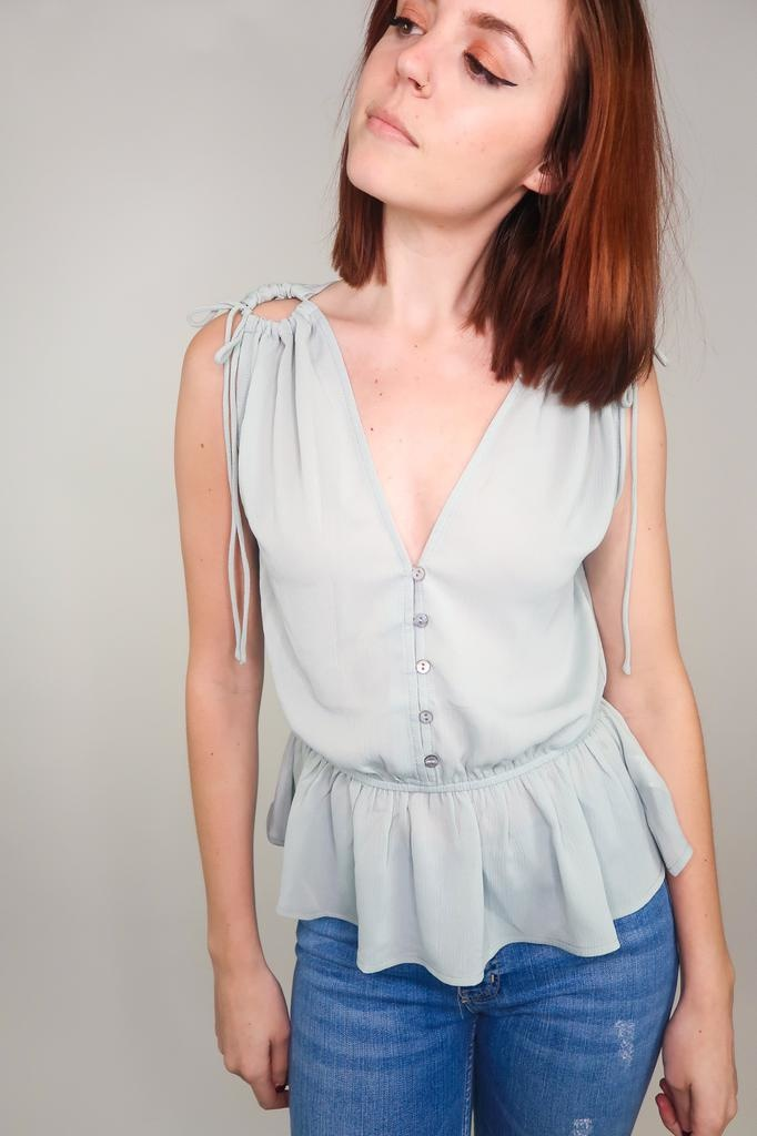 She + Sky All We Know Sleeveless Top
