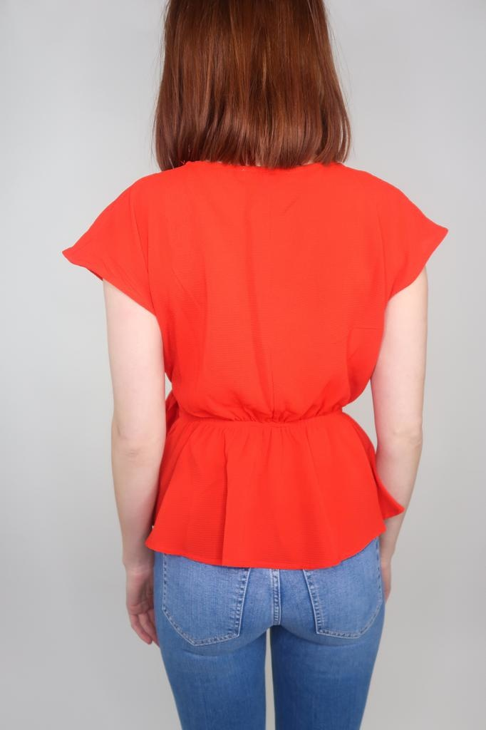 She + Sky Here To Stay Peplum Top
