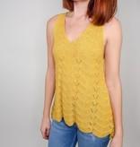 She + Sky Making Smart Crochet Top
