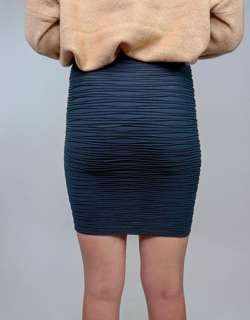 Last Tango Curvy textured skirt
