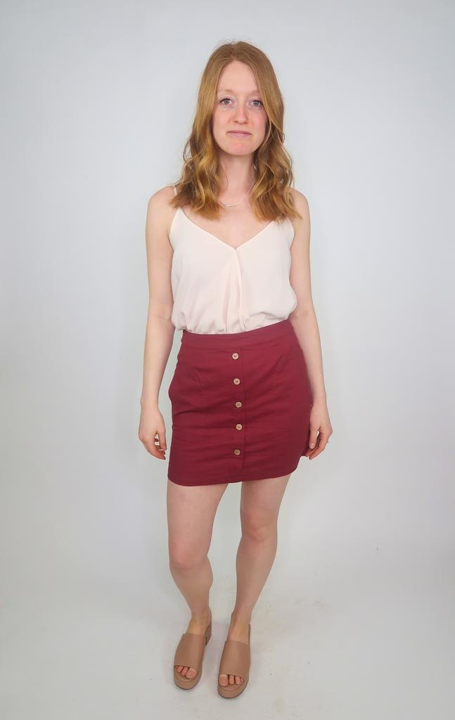 HYFVE Mini skirt w/ buttons