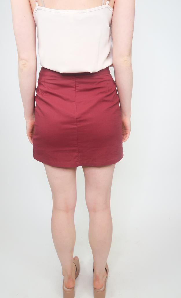 HYFVE Mini skirt w/ buttons